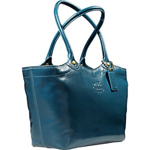 coach-bleecker-patent-leather-tote-blue