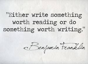 franklinONwriting