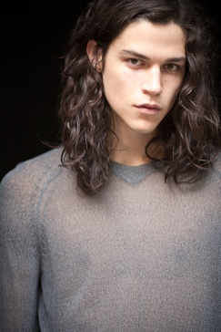 Theron (okay it's really super hot model Miles McMillan)