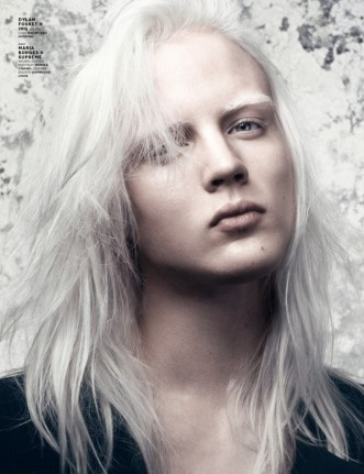 This is model Dylan Fosket, who was my inspiration for Salil.  Salil is very pale, and kind of effeminate, and very charming.